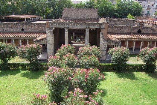 Celkový pohled na vilu
