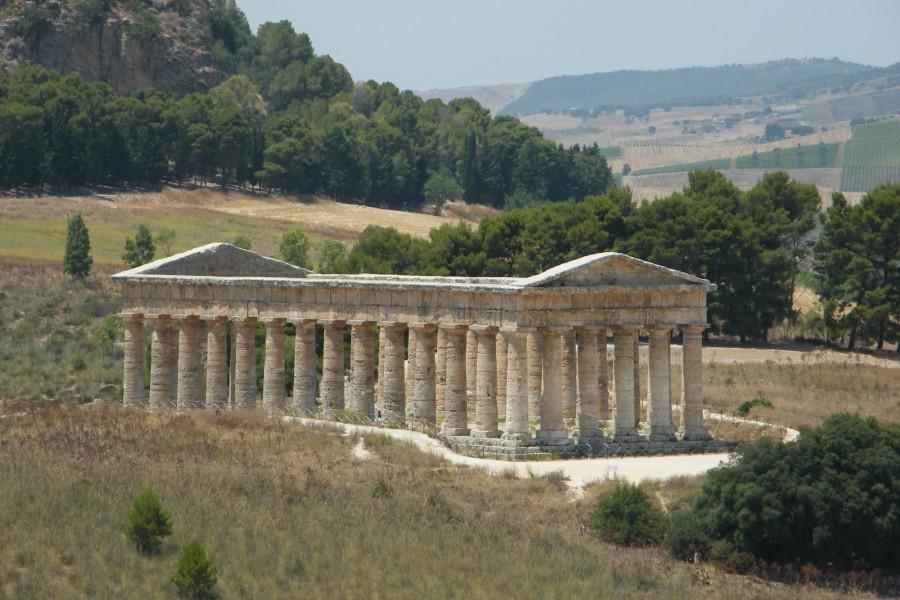 Velký chrám v Segestě